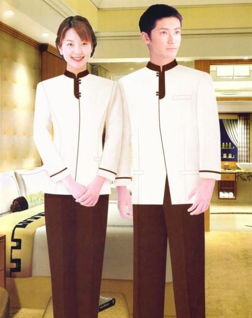酒店服务员工作服款式