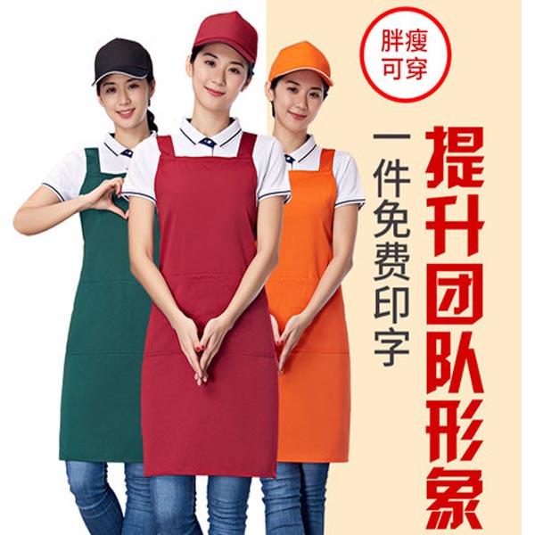商场超市工作服款式图片